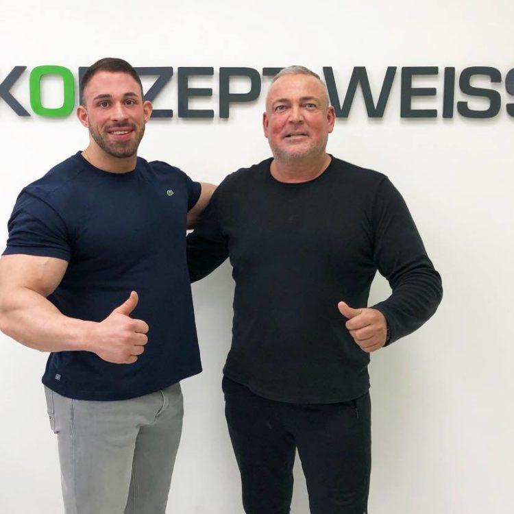 Kevin Wolter und Thomas Schott